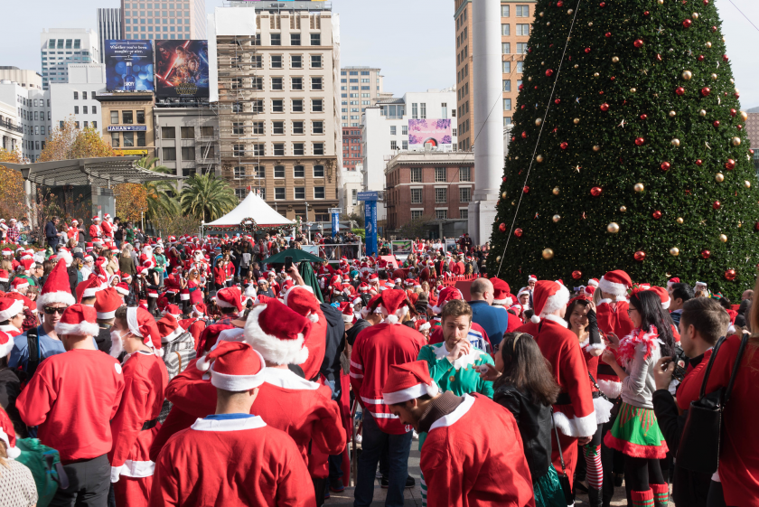 SantaCon à San Francisco
